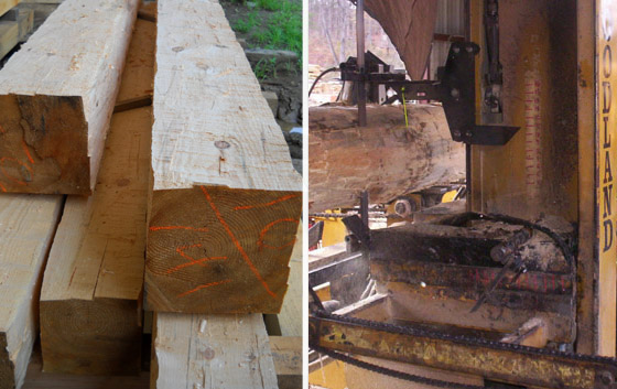 sawmill direct from mill franklin nc north carolina trull forest products